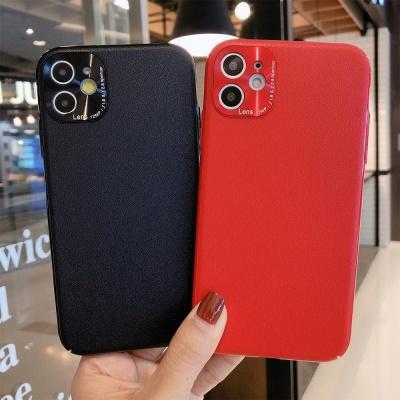 아이폰11프로 PRO 카메라보호 컬러 무지 실리콘케이스