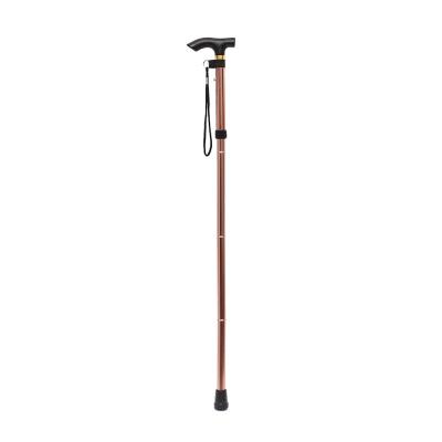길이조절 접이식 지팡이(브론즈)