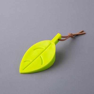 나뭇잎 실리콘 도어스토퍼(그린)