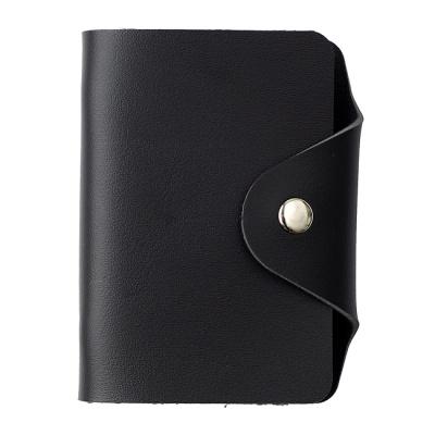 인조가죽 카드지갑(블랙)