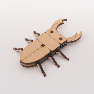 [DIY 왕사슴벌레 만들기] 엄마표 미술놀이 조립장난감