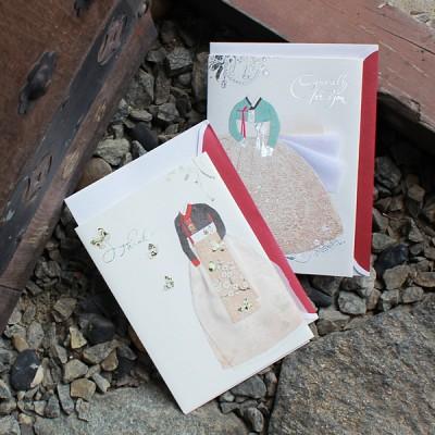 030-SG-0033 / 소녀의 마음 감사카드