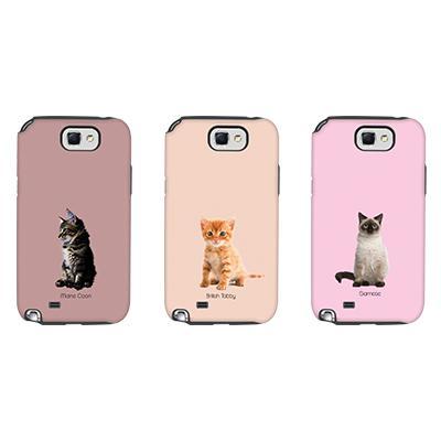 [듀얼케이스] Baby Cats (갤럭시노트2)