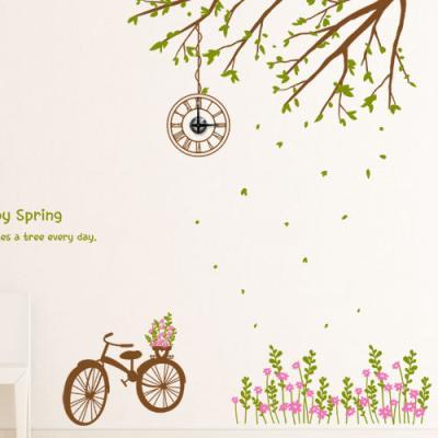 ib176-행복한봄날숲속에서_그래픽시계(중형)
