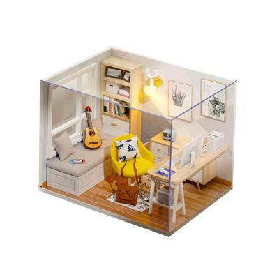 DIY 미니어처 하우스 - 스터디룸
