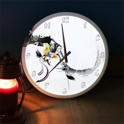 nf292-LED시계액자35R_우리전통문화탈춤