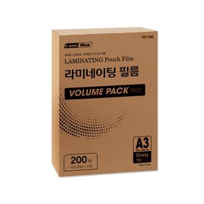 라미에이스 VOLUME PACK 코팅필름 100MIC A3(200매)