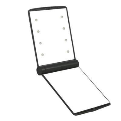 LED 화장 손거울 휴대용 미니 메이크업 조명 거울
