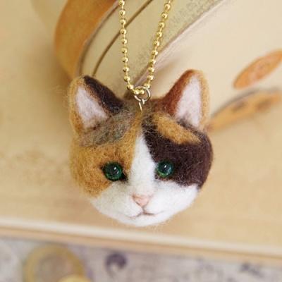 하마나카 삼색고양이 얼굴 키트