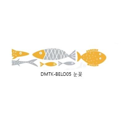 [두성산업] 디자인마스킹테이프K-BEL006 (물고기) [개/1] 285087