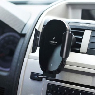 스마텍 차량용무선충전거치대 ST-CD150 급속충전