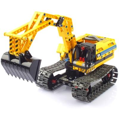 블록테크닉 포크레인 로봇 2in1 작동블록 CBT291090