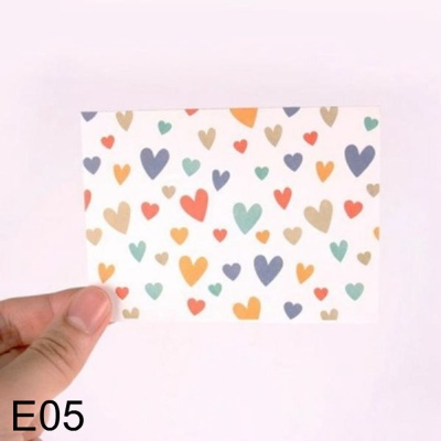 DNF 사랑스러운 하트 편지지 달콩달콩 E05 1개