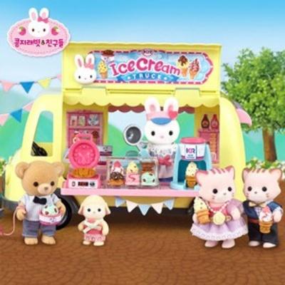 콩지래빗 아이스크림트럭 유아 장난감 완구