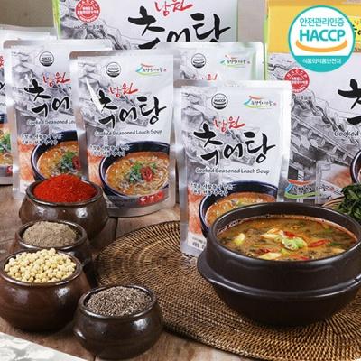 [전통의 맛] 영양가득 깊은맛 남원식 추어탕 450gx5팩