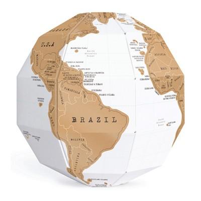 [원더스토어] 럭키스 스크래치 지구본 Scratch Globe