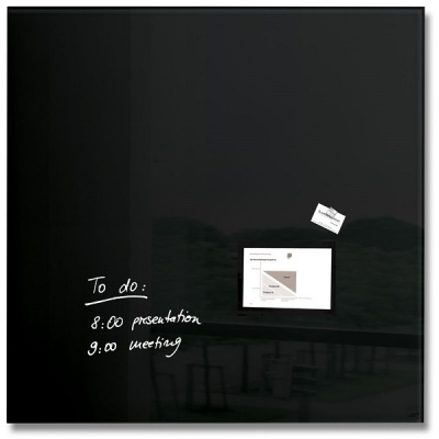[Sigel] 100x100cm...특수 안전 유리의 인테리어 디자인보드-독일 지겔 마그네틱 글라스보드 GL200
