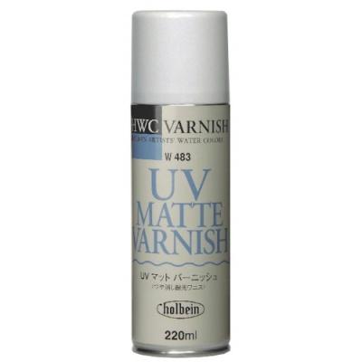 홀베인 수채화용보조제 UV 매트 바니쉬 220ml