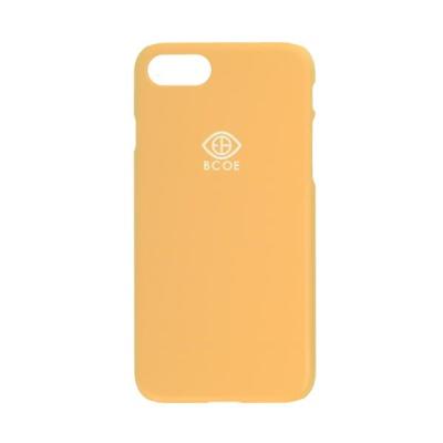 LOGO SIMPLE PHONE CASE yellow 후원 폰케이스 비코