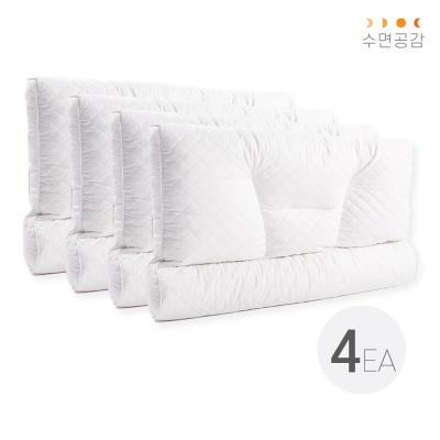 [수면공감] 우유베개 라텍스 기능성 경추 베개 (4EA)