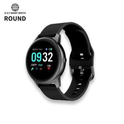 [오에스티] Smart Watch Round Black