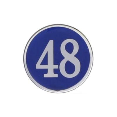 번호판48 에폭시 파랑 4841 지름48 1개입