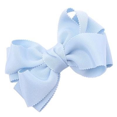 [헤어보우]Double ribbon 헤어핀-스카이블루(HB110083-2)