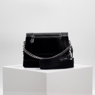 [TYCHE] Small Cross Handbag - Black