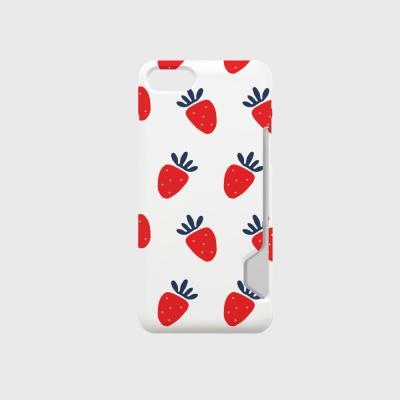 스트로베리샤벳 디자인 카드수납케이스 핸드폰케이스