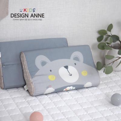 [디자인엔] 알러지케어 곰 아동메모리폼베개