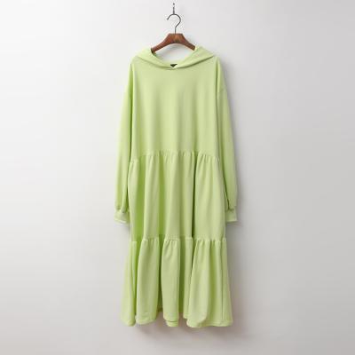 Edit Cancan Hood Long Dress