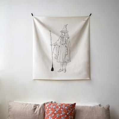 태슬 시리즈 패브릭 포스터 / 가리개 커튼