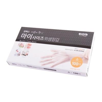 [유메드] 내손에착 마이사이즈위생장갑 (100매) 소 402302