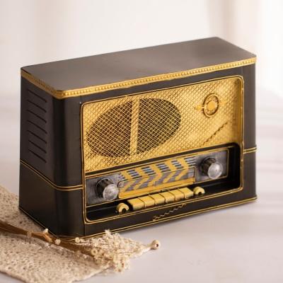 레트로 라디오 모형