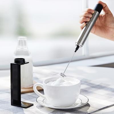 [빈플러스] 핸들 전동 우유거품기