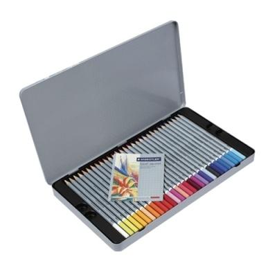 [스테들러] 수채화색연필48색 125 [세트/1]  145045