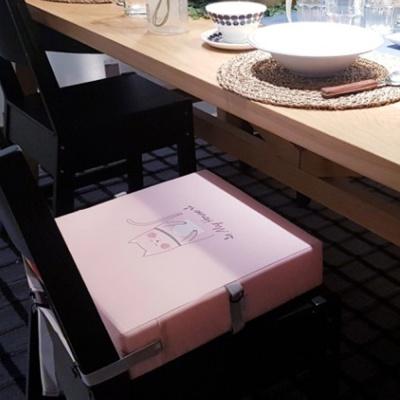 하쥬르 키높이 유아 어린이 의자 방석 - 고양이
