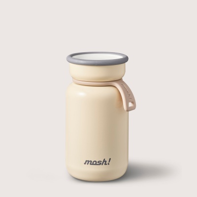[MOSH] 모슈 보온보냉 라떼 미니 텀블러 200 아이보리