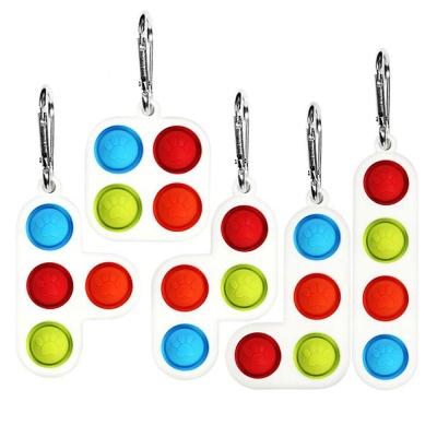 테트리스 퍼즐 블럭 키링 푸쉬팝 버블 팝잇 열쇠고리