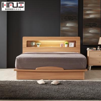 보루네오 하우스 라보떼 리나 LED조명 평상형 침대 LN002 SS (본넬스프링)