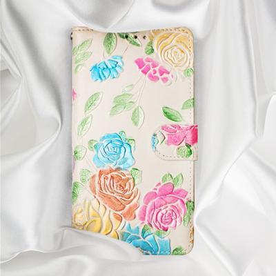 플로라 천연가죽 다이어리 핸드폰케이스(갤럭시 S9)