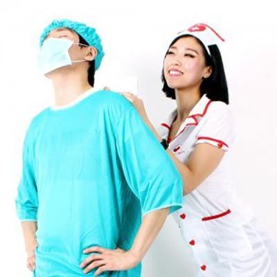 병원 코스튬 남녀세트 (할로윈 성인 의상)