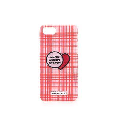 PFS iPhone8 002 Wappen Pink
