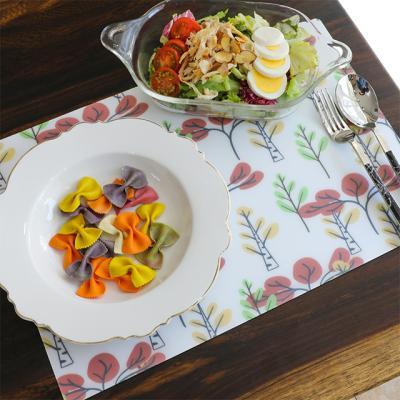 [원더스토어] 방수 TPU 테이블 식탁 매트 트리