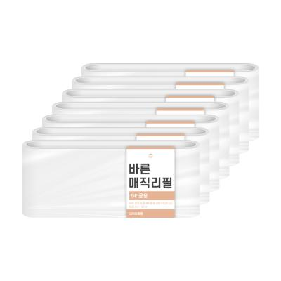 [바른]매직리필 9L 연속비닐(매직캔220호환) 7개