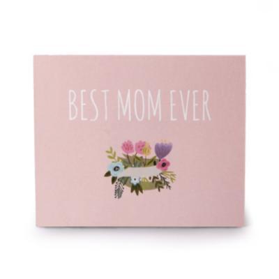 핑크 베스트맘 카드