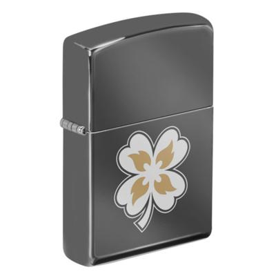 ZIPPO 라이터 49429 Black Ice Laser Two Tone