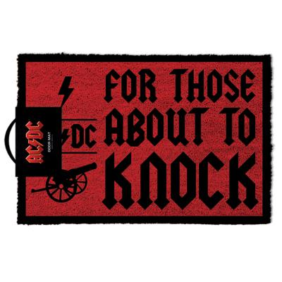AC/DC 에이씨디씨 디자인 카페 현관 발매트