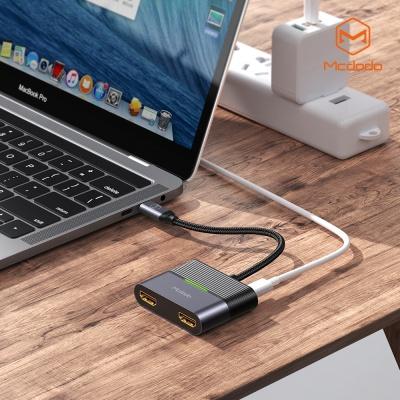 맥도도 3 in 1 C타입 허브 어댑터 HDMI X 2 C타입 PD