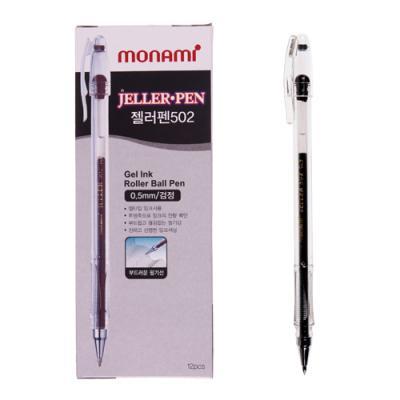 모나미 젤러펜502 (흑) (개) 77352